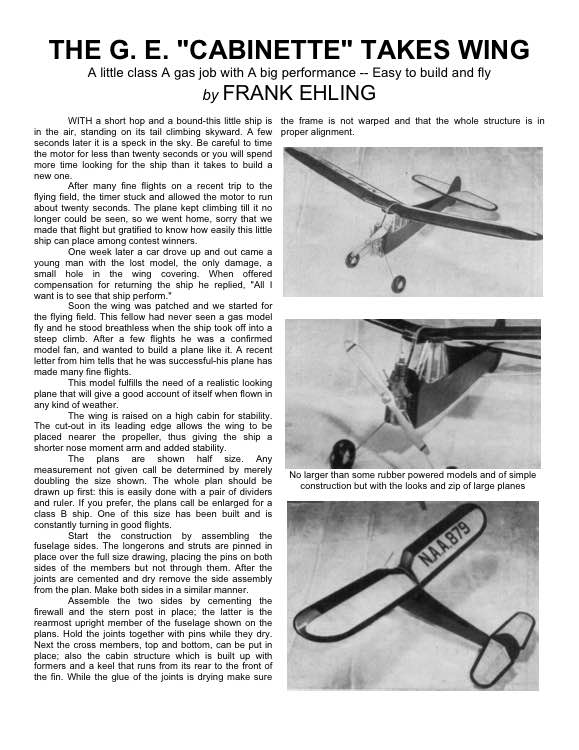 cabinete2 model airplane plan