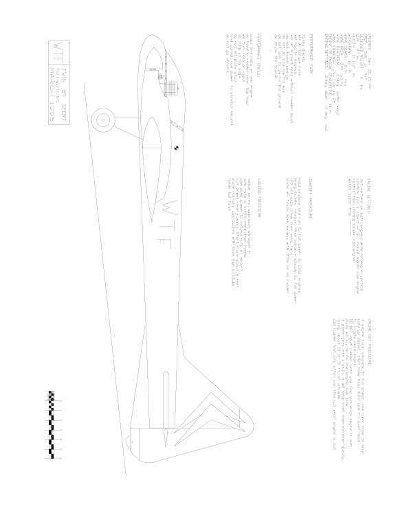 wtf1 Model 1 model airplane plan