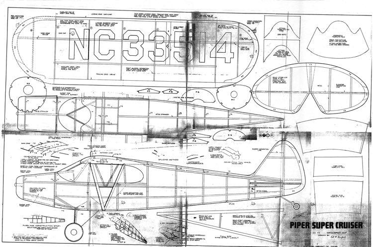 Piper Super Cruiser Plans - Aerofred