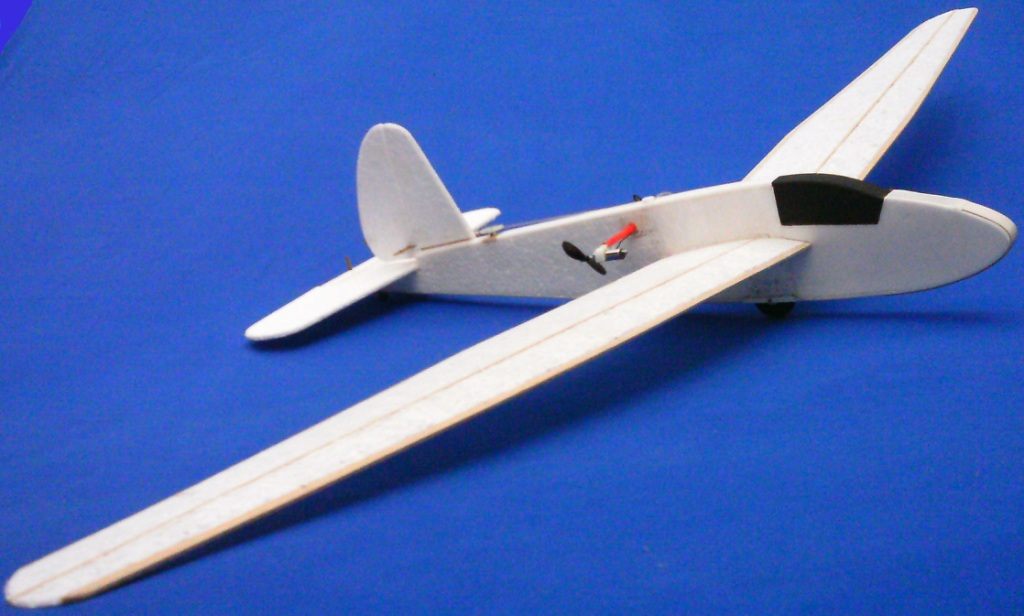 SCHWEIZER 1-23 R/C TOY CAR model airplane plan