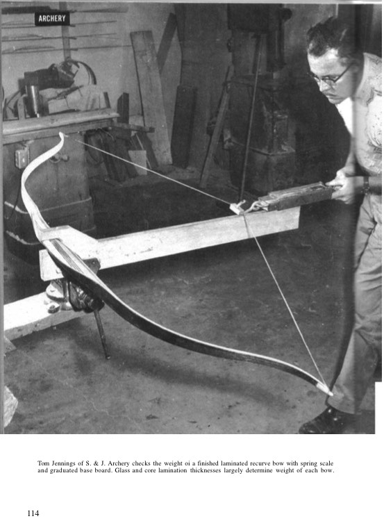 recurvebow model airplane plan