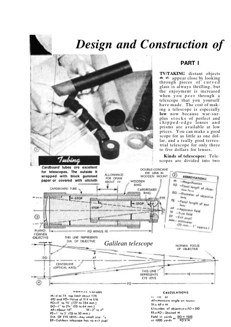 telescope-design-1 model airplane plan