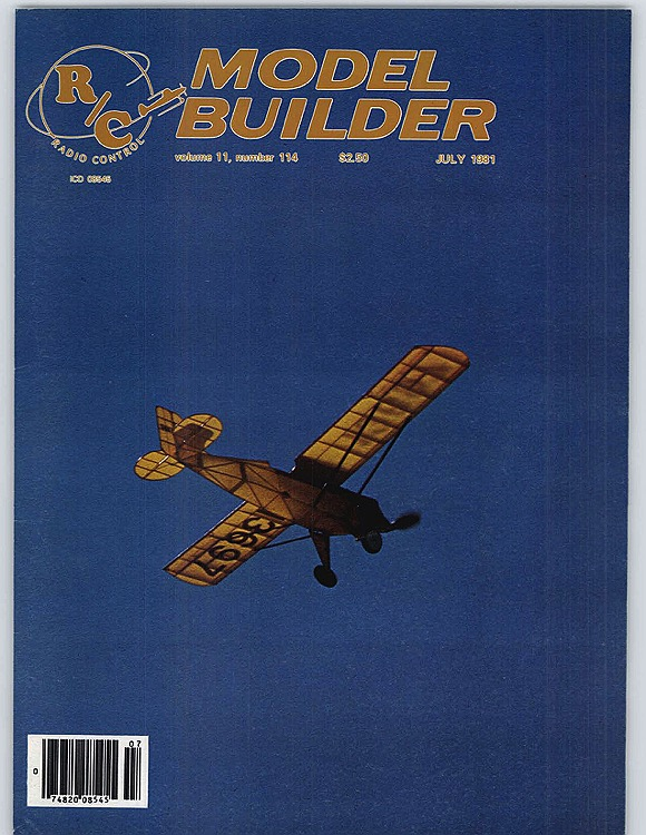 MB-1981-07-JUL model airplane plan
