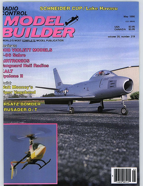 MB-1990-05-MAY model airplane plan