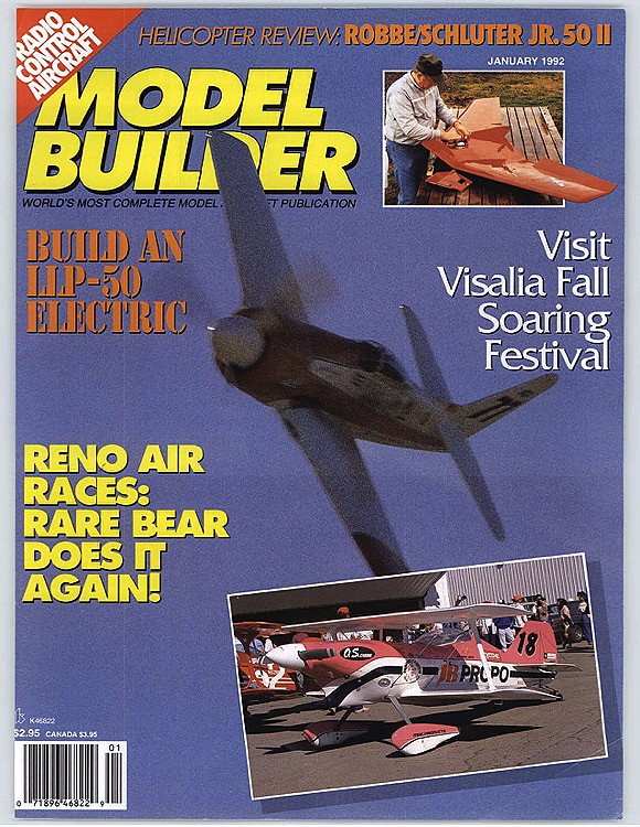 MB-1992-01-JAN model airplane plan