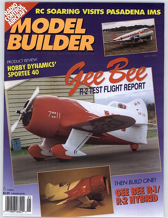 MB-1992-05-MAY model airplane plan