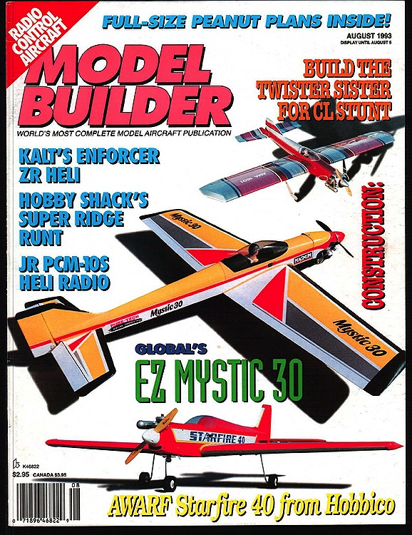 MB-1993-08-AUG model airplane plan