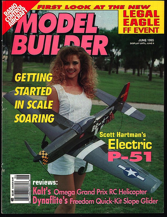 Model Builder 1995-06-JUN model airplane plan